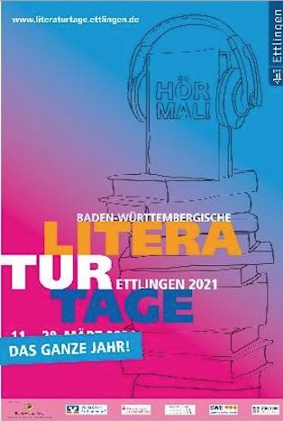 Baden-Württembergische Literaturtage  4.5.2021