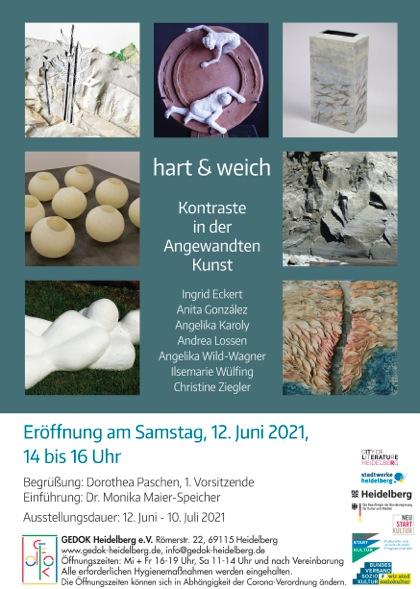 hart & weich - 7 Künstlerinnen der Sparte Angewandte Kunst laden ein