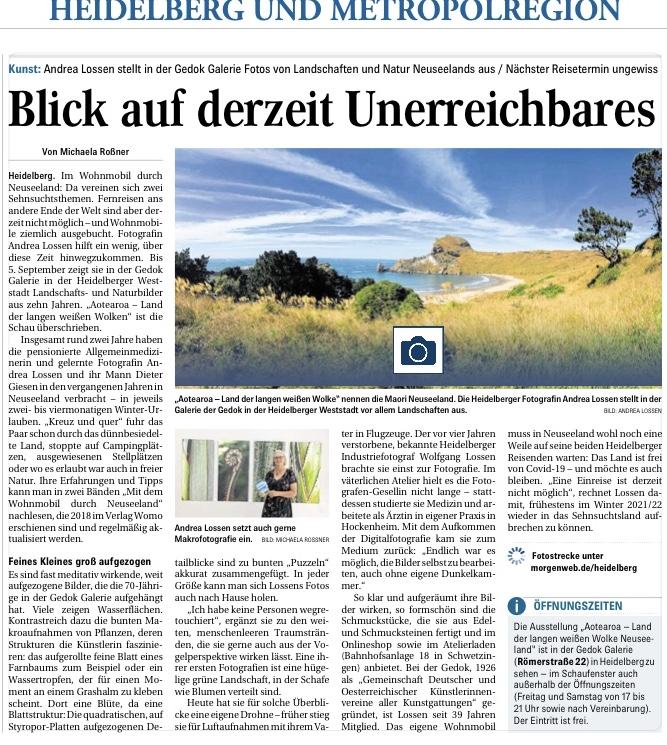 Mannheimer Morgen, 11.8.2020