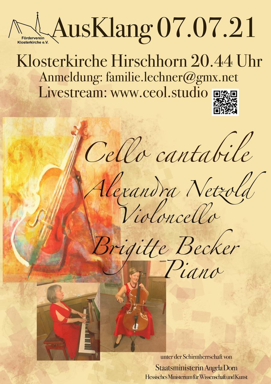 """Konzert """"Cello Cantabile"""""""