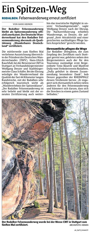 Quelle: Rheinpfalz 15.01.2020