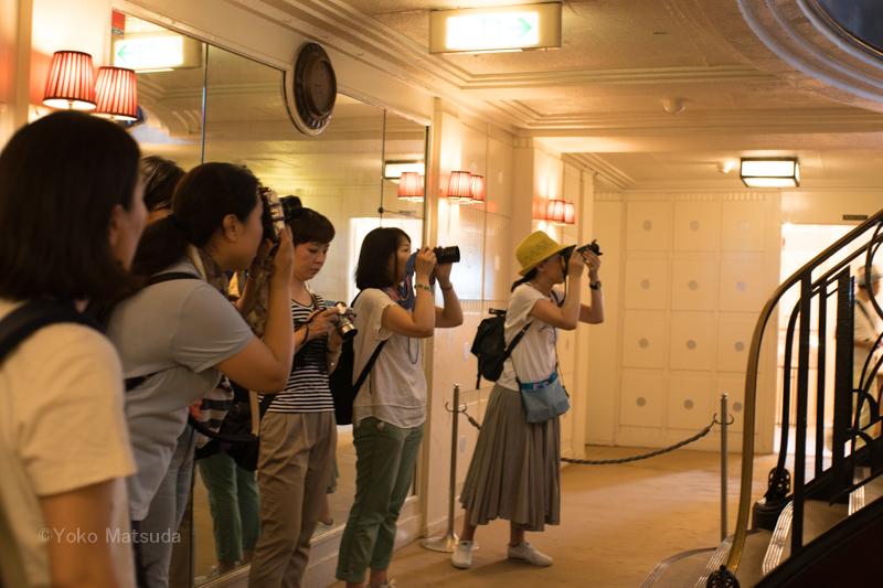 女性限定写真教室 撮影会のようす