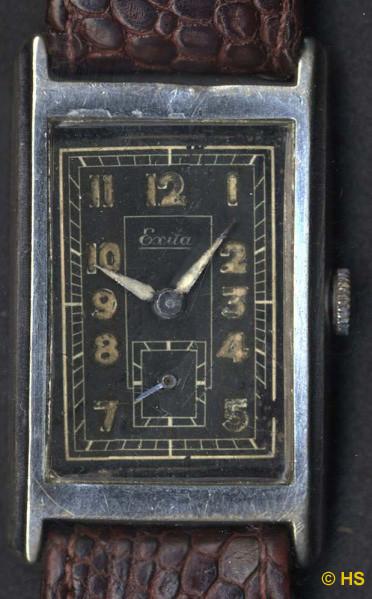 HAU Exita mit Urofa 58 - Carl Rivoir KG Uhrenfabrik Pforzheim