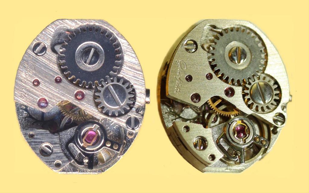 Das GUB-Werk - links mit GUB Stoßsicherung und rechts mit importierter Incabloc-Stoßsicherung