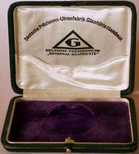 Schatulle für DPUG Taschenuhr