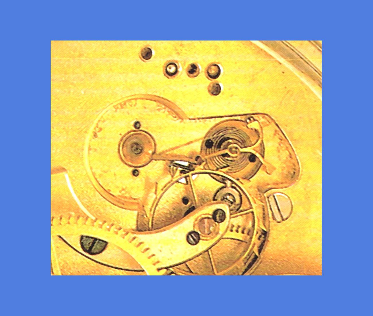 Die Glashütter Chronometer-Kurtzwippe mit Sicherungsstein