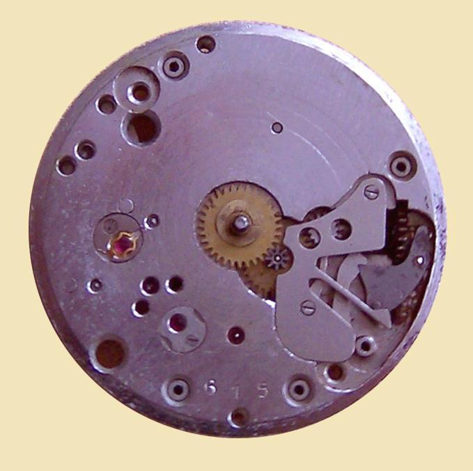 GUB Güteuhr Kaliber 60.2 18 Steine mit Chatons und Incabloc Stoßsicherung