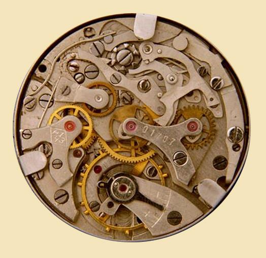 Werk Kaliber 59 aus der 1.Moskauer Uhrenfabrik