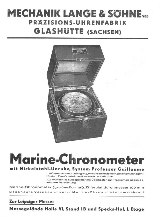 Werbeprospekt zur Leipziger Messe 1949 S.1