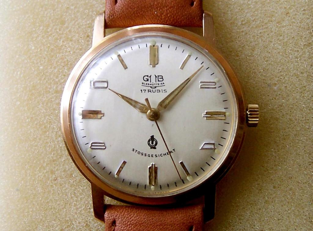 GUB Chronometer Kaliber 70.1 mit Gangschein und Zertifikat