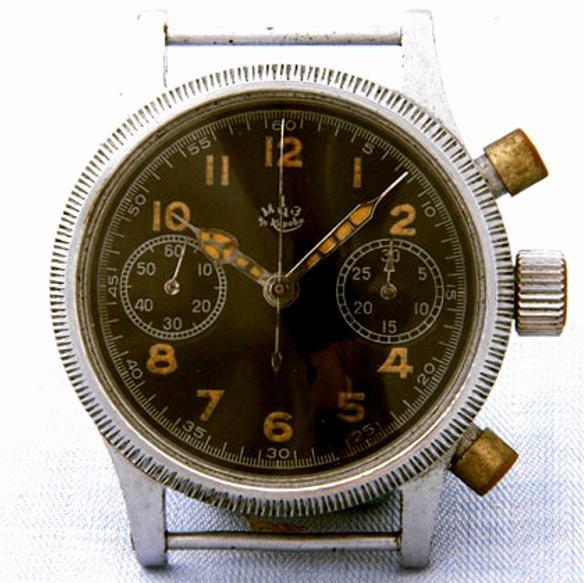 Fliegerchronograph Kaliber 59 aus der 1.Moskauer Uhrenfabrik