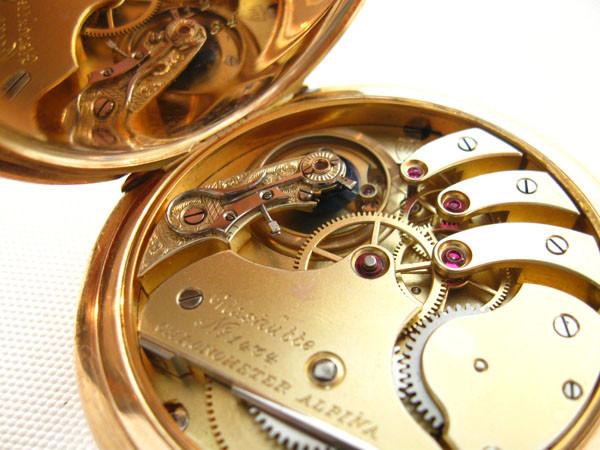 Chronometer der Präcisions-Uhrenfabrik Alpina Glashütte