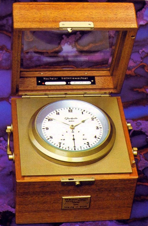 Marinechronometer Kal. 1-71 Quarzgesteuert