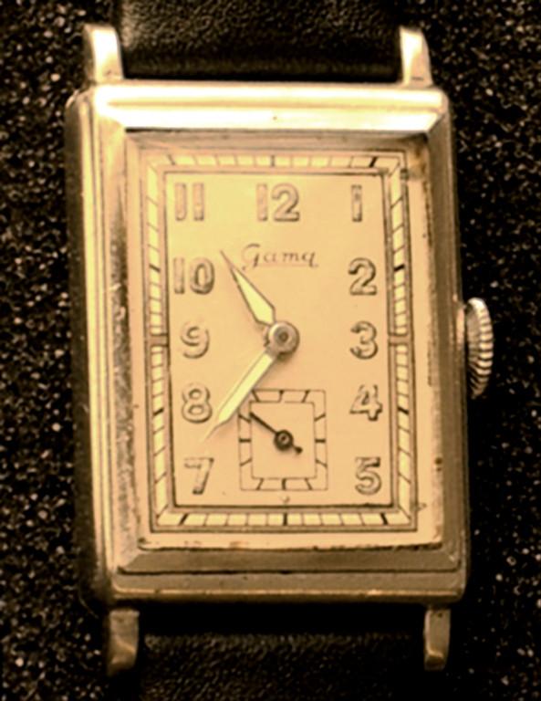 HAU Gama; Uhrenfabrik G. A. Müller Pforzhein