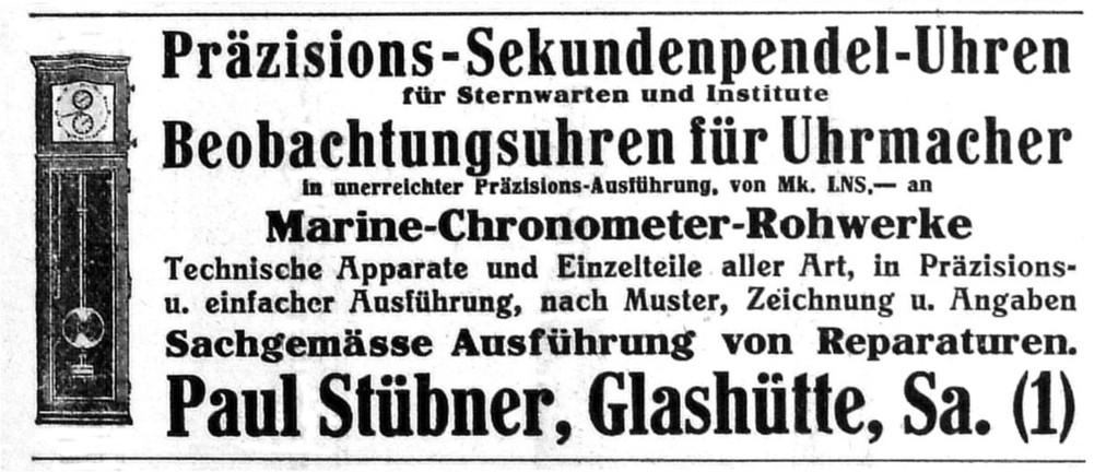 Deutsche Uhrmacher-Zeitung 1911