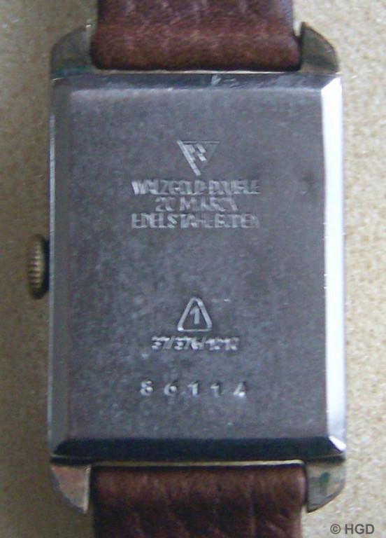 GUB Kaliber 62.2 Import Walzgold Double Gehäuse der Firma Ernst Wagner OHG Pforzheim
