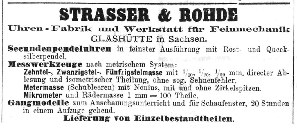 1885 Deutsche Uhrmacher-Zeitung Nr.23