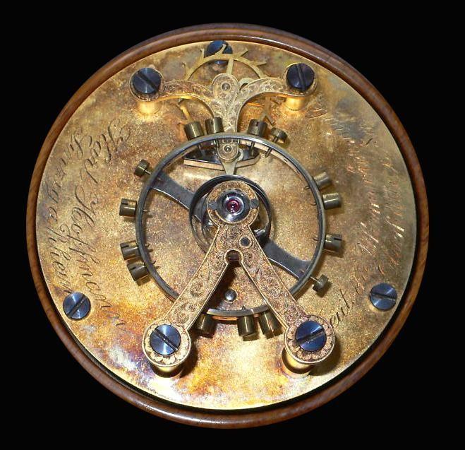 Ankerhemmungsmodell gefertigt 1923/24 von Karl Hoffmann an der deutschen Uhrmacherschule Glashütte