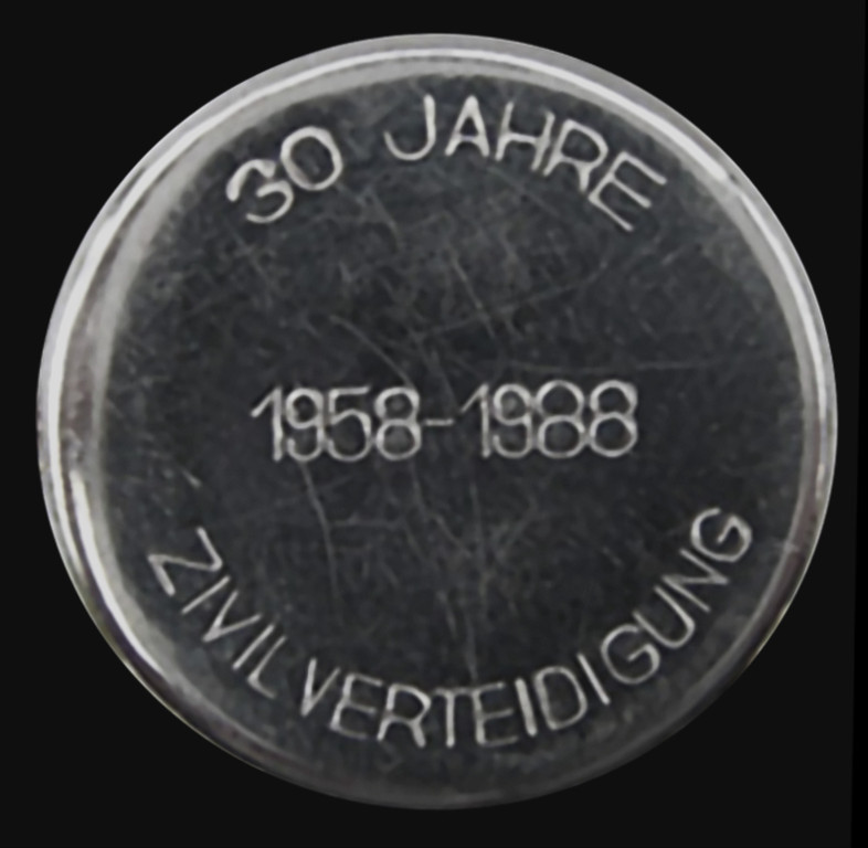 Bodengravur Quarz-Auszeichnungsuhr der Organe der Zivilverteidigungsorgane