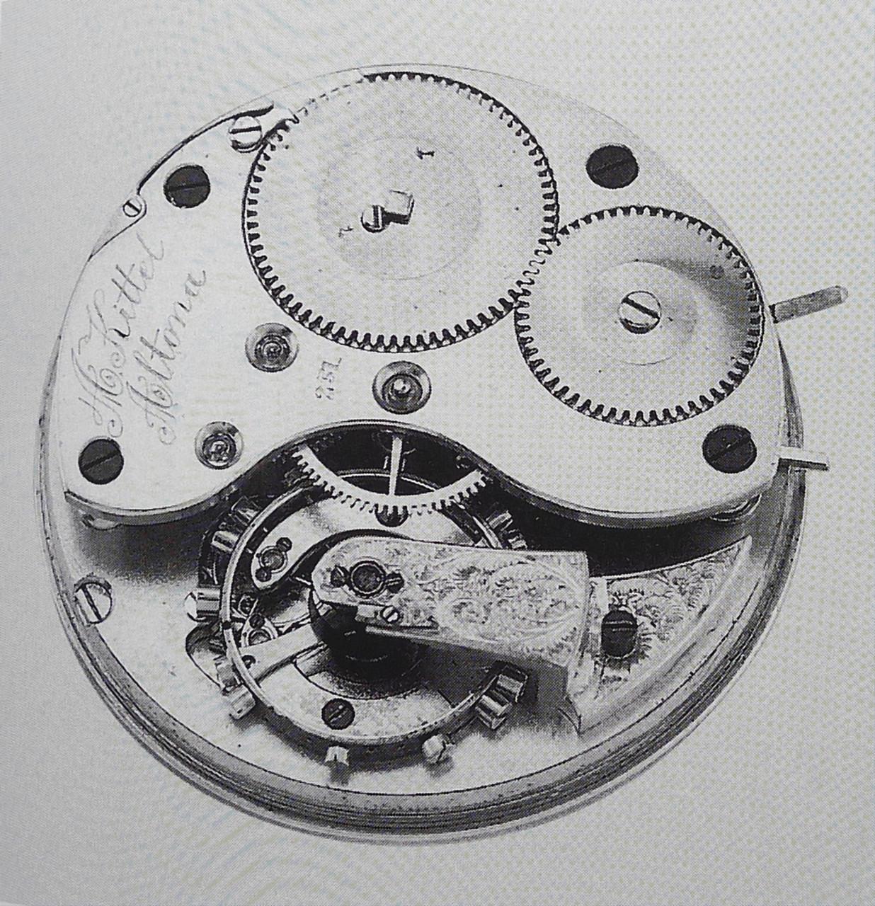 Vergleichs-Taschenchronometer Nr.251 mit DUF-Platine & Wippe nach L. Berthoud
