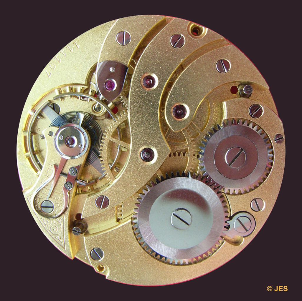 Baugleiches Werk einer noch von der bis 1925 zur DPUG gehörenden Uhrenfabrik Hohenstein