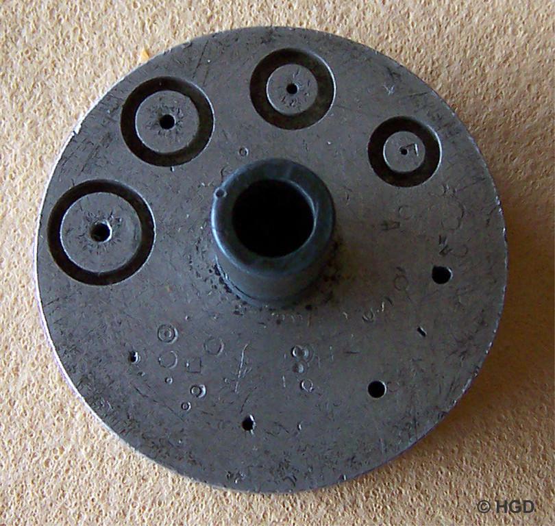 1. Zylinderrad Richtamboss