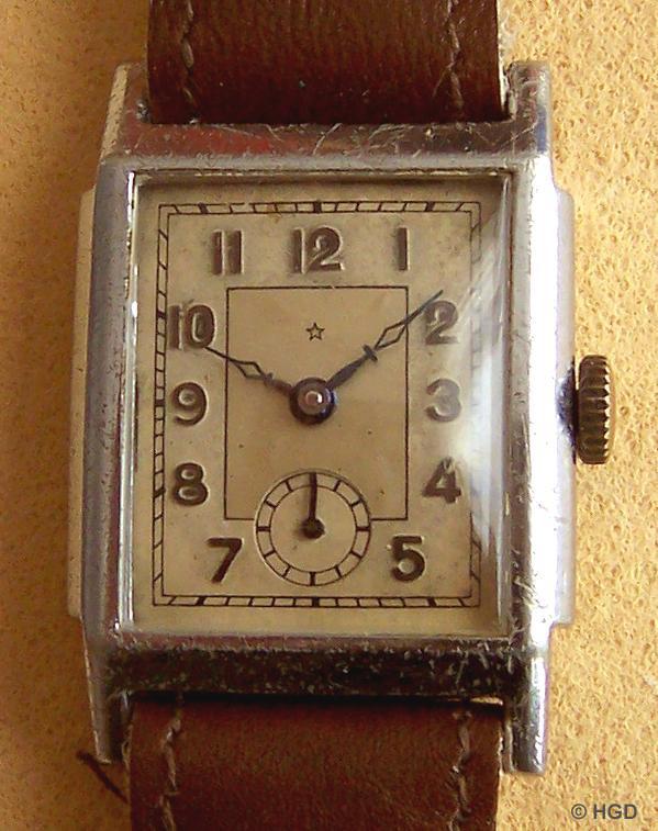 Uhr einer noch nicht bestimmten Fremdfirma mit Urofawerk Kaliber 55