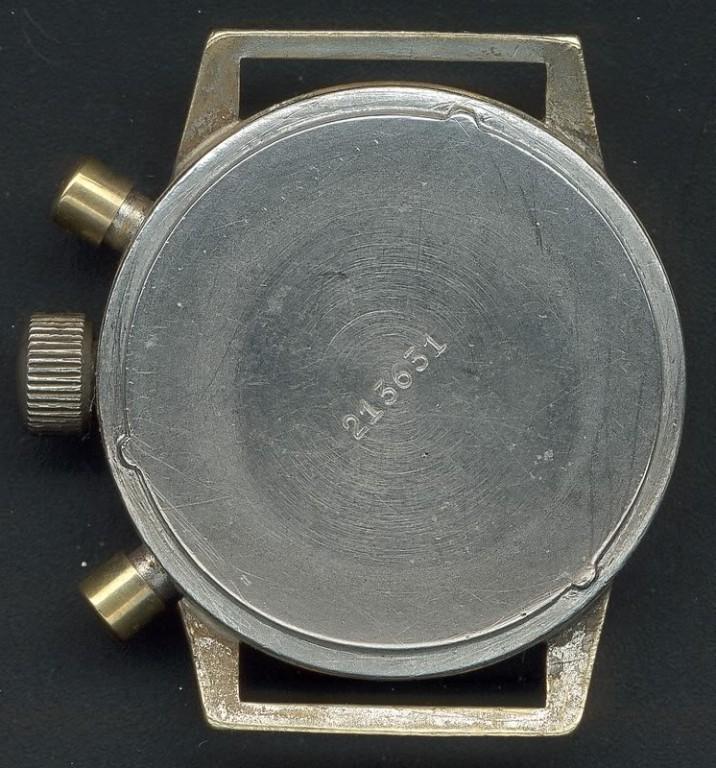 Tutima Fliegerchronograph Urofa Kaliber 59 Rückfront