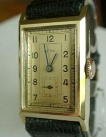 HAU Berg mit Urofa 58 - Bergana-Uhrenfabrik Pforzheim