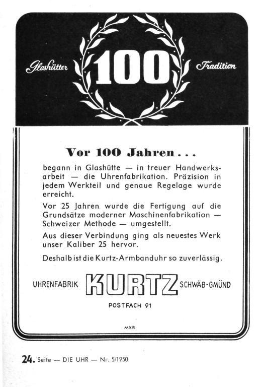 Die Uhr 1950 Heft 5 S.24