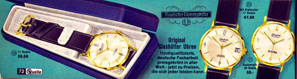 "v.L.n.R. GUB Kaliber 70.1, 69.1 & das ""Phanthom"" 68.4 beim Nürnberger Versandhaus ""Quelle"""