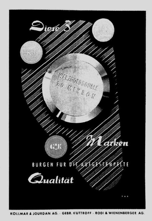 Die drei Westdeutschen Gehäuselieferanten der GUB in den 1950er Jahren