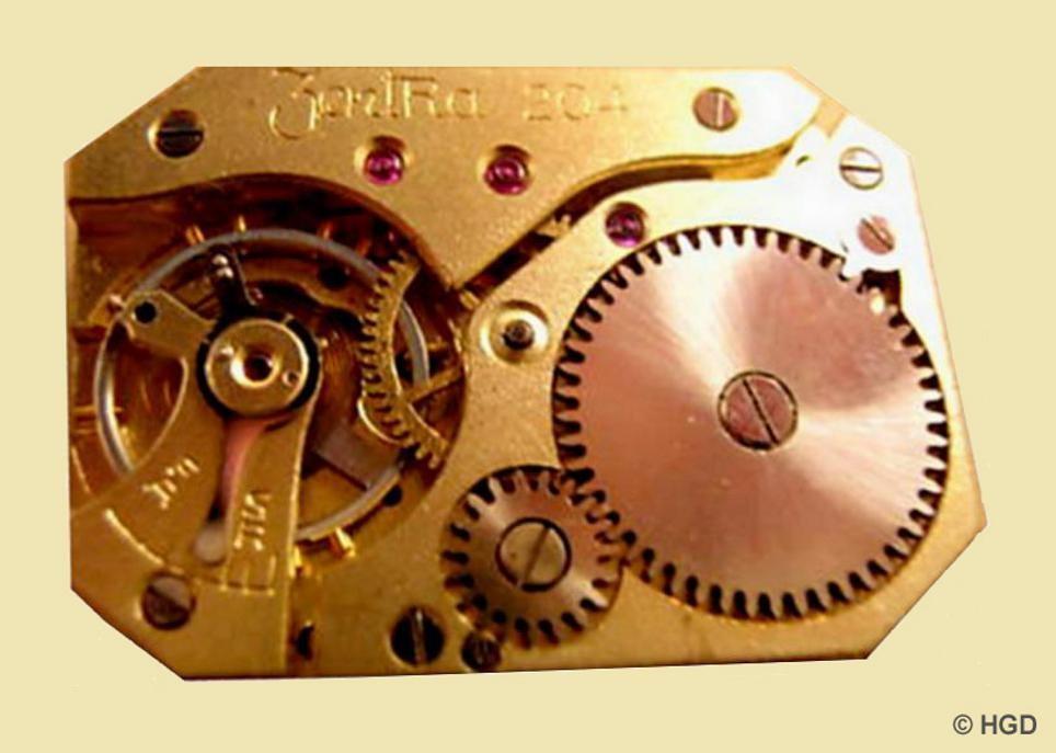 Urofa 58 für HAU ZentRA; körnig vergoldet