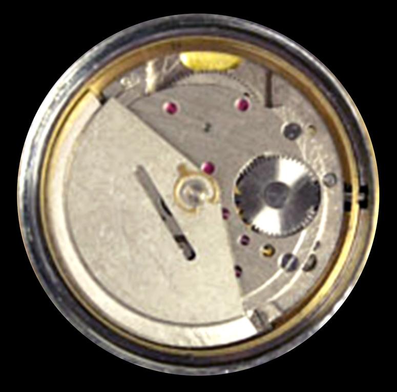 Das Werkkaliber 75 (06-26) hatte keine besondere Ausstattung