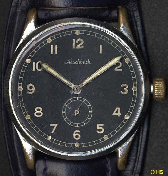 HAU der Uhrenfabrik Aeschbach (Schweiz) mit Urofa 58 - nach der Trennung von der Firma Weber & Aeschbach Pforzheim