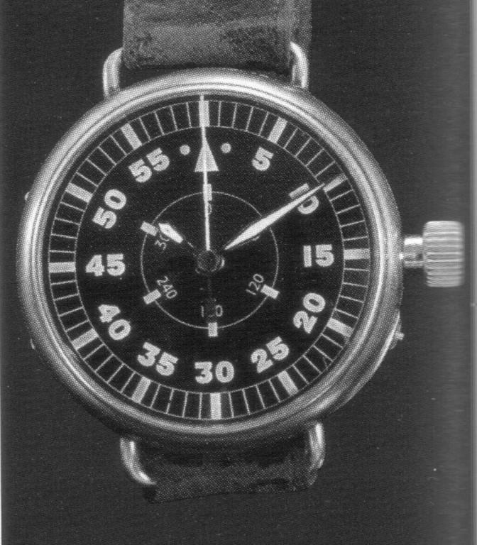 31.03.1936 Flieger B-Uhr mit Gradmaßzifferblatt