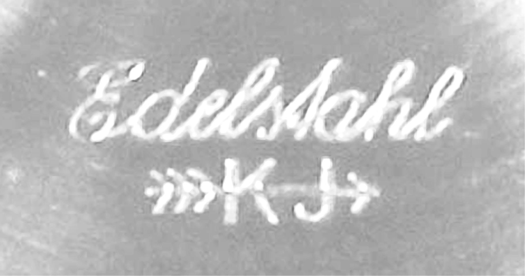 Herstellerkennung der Firma Kollmar & Jourdan, Pforzheim
