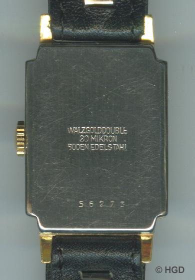 GUB Kaliber 62.2 HAU Verg. restauriertes Gehäuse mit Edelstahldruckdeckel