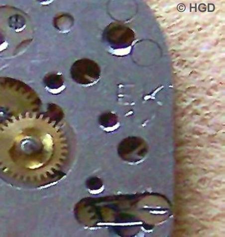 EK 12, die 1. Werk- & Kaliberkennung der Uhrenfabrik Kurtz