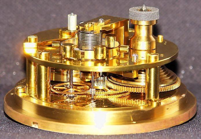 GUB Kaliber 100 Marine-Chronometer, offene Werkansicht 4