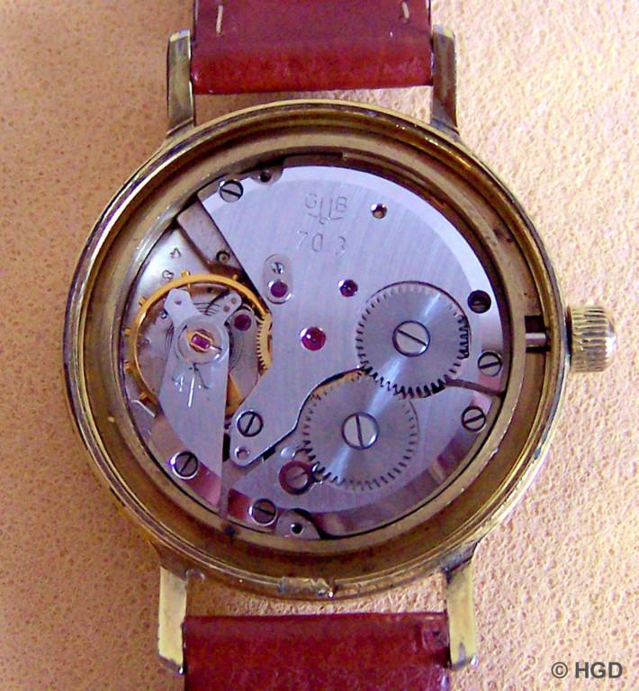 Werkseite des Chronometers