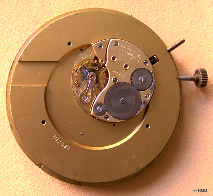 Kaliber 48 mit Auf- und Abwerk
