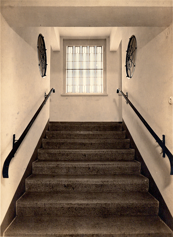 Werk Gleisberg, Treppenhaus im Okt0ber 1940