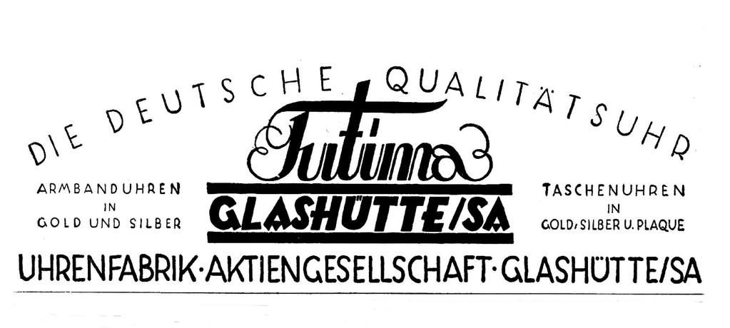 Januar 1931 - erste bisher nachweisbare Eigenwerbung der UFAG für die Qualitätsmarke Tutima