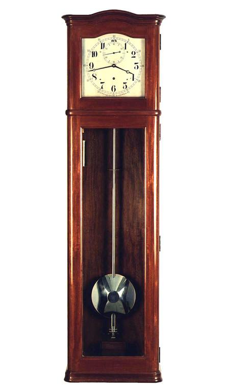 Präzisionspendeluhr Fa. Paul Stübner. Uhrenmuseum Furtwangen
