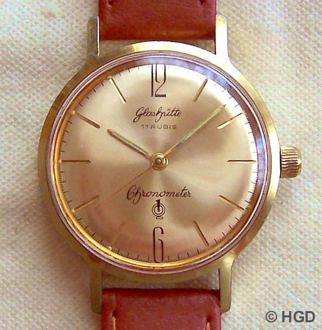 GUB Chronometer 70.3 vom Versandhaus Quelle für 99,-DM