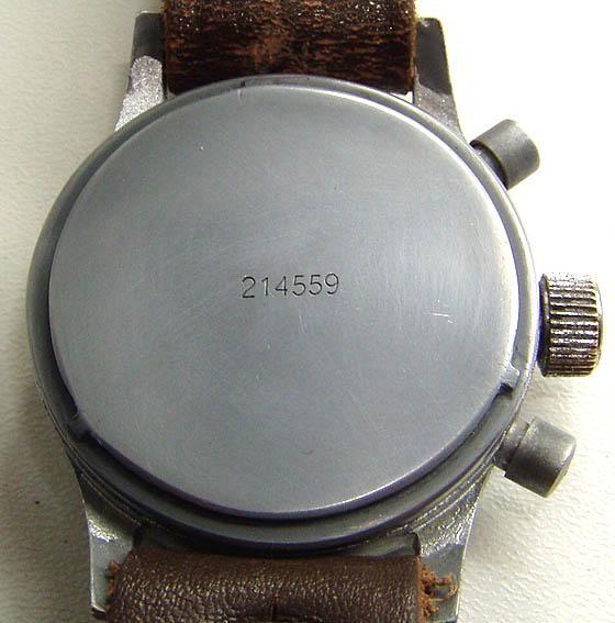 Schraubdeckel mit Identischer Werknummerprägung für späte Glashütter Werkausführung