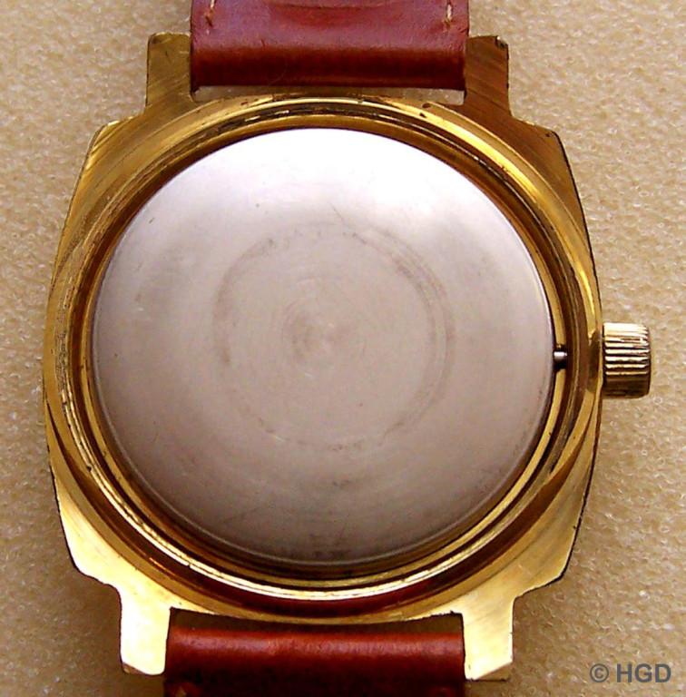 Staubdeckel eines Importgehäuses für Chronometer Kaliber 70.3