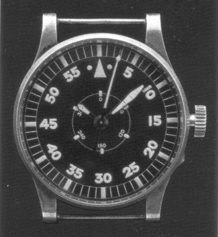 27.02. (?Stk.) & 05.09.1939 (9 Stk.) Kal.45 Flieger B-Uhr mit Gradmaßzifferblatt