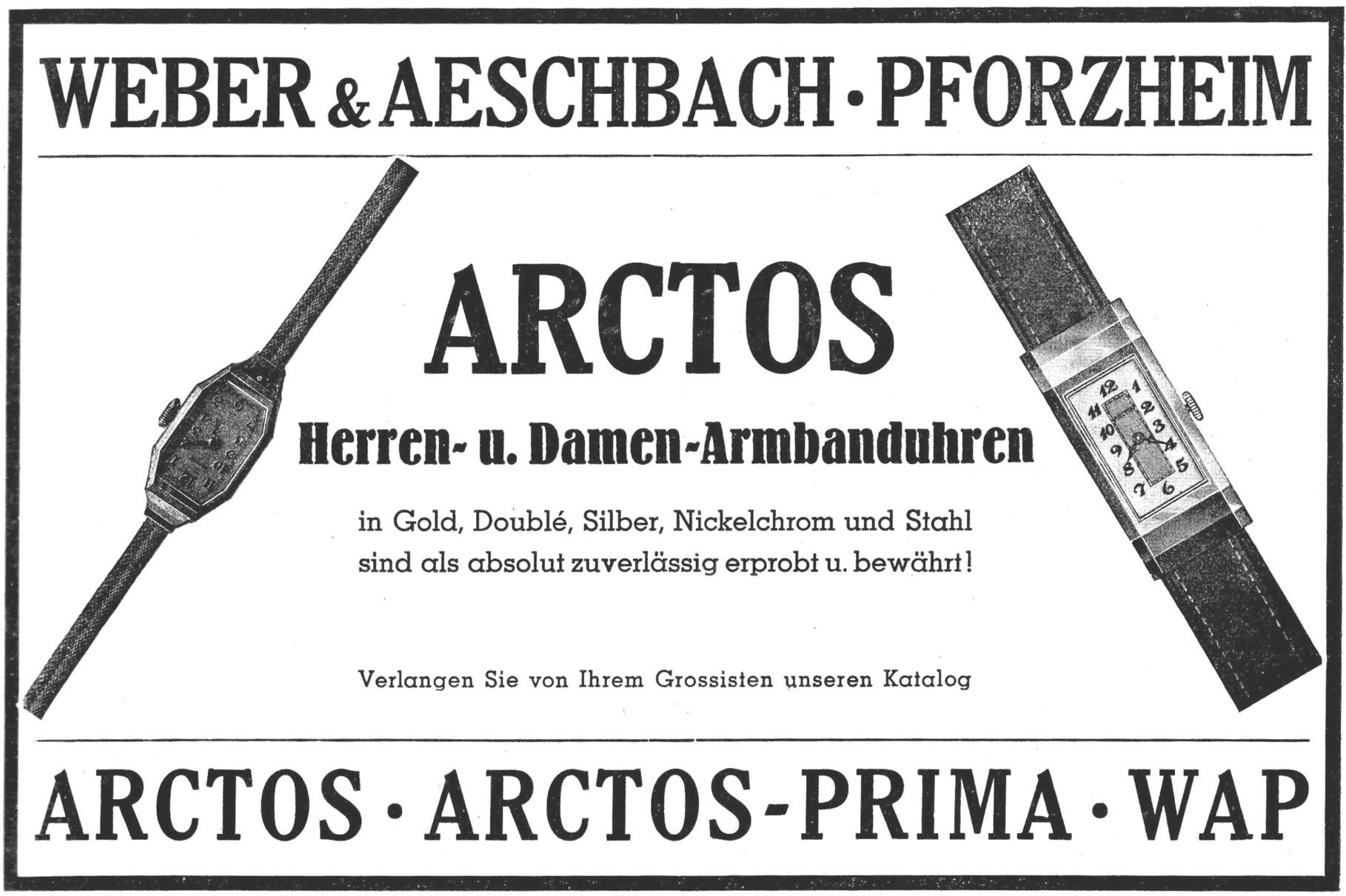 Quelle: Deutsche Uhrmacher-Zeitung Nr.16 v. 13. April 1935